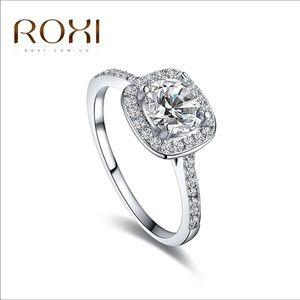 Roxi Engagement/Wedding Ring Size 8 AAA Zirconia